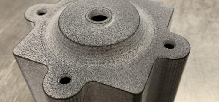 Réparation avec une pièce imprimée en 3D